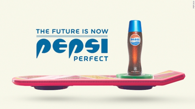 Pepsi Heading 'Back to the Future' With Pepsi Perfect Soda