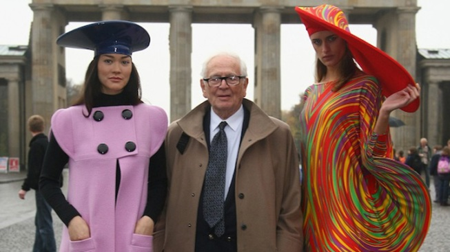 Iconic Designer Pierre Cardin Says He's Ready to Sell Business