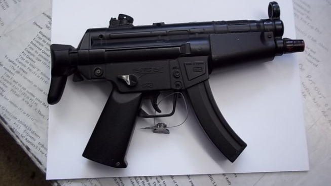 Teen With Box Cutter, Fake Uzi Arrested on Weapons Charges