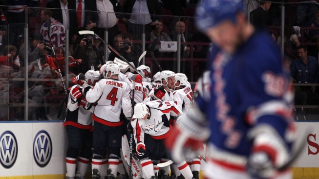 Garden Collapse: Rangers Hand Over Huge Lead, Lose to Capitals