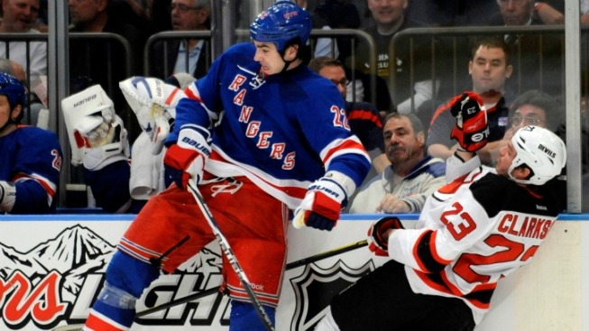 Rangers Rediscover Their Fight Against Devils