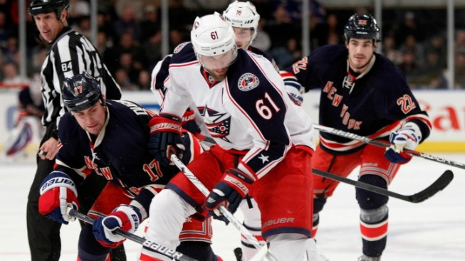 Rick Nash Night Ends With a Rangers Win
