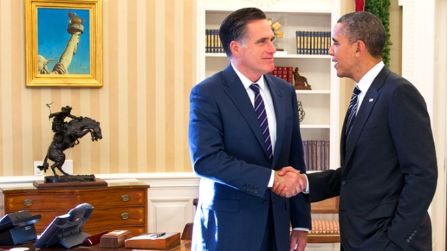 Obama, Romney Together: Chili, Not Chilly