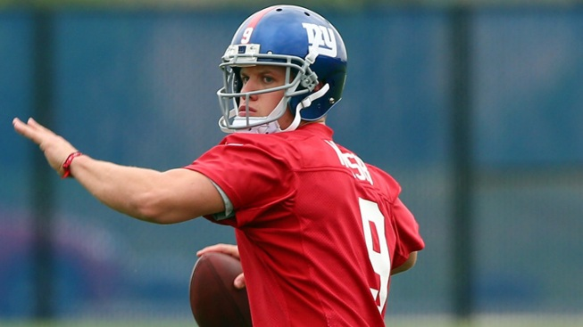 Ryan Nassib Can Help Giants, Without Taking the Field