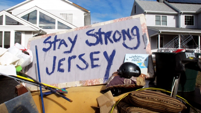 NJ Seeks $37B in Federal Aid for Sandy Recovery