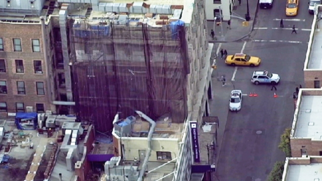 Construction Worker Falls from Scaffolding onto Neighboring Roof, Dies