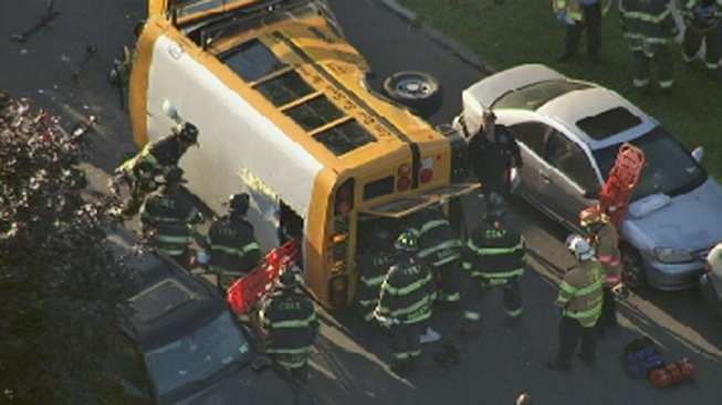 School Bus Crashes in Queens