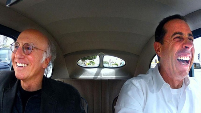 "Seinfeld's New Season of ""Comedians in Cars Getting Coffee"" Takes Off"