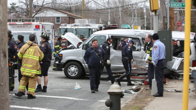 Fire Truck Ran Light Before Van Crash: Report