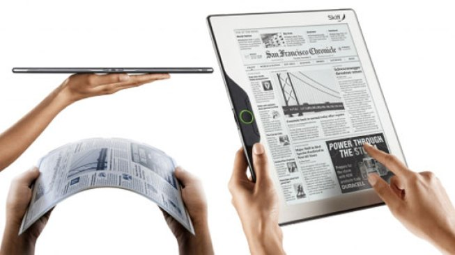 Skiff Takes E-Readers to New Territory: Flexible Screens