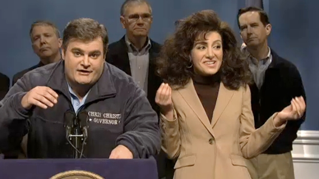 """SNL"" Responds to Superstorm Sandy"
