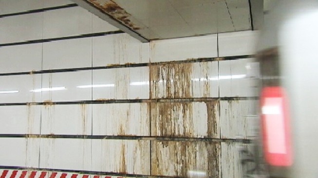 Water Damage Soils City's Newest Subway Station