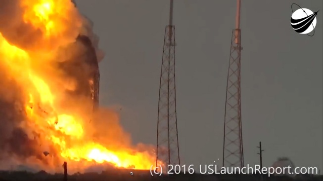 Sabotage Speculation Surrounds SpaceX Explosion: Report