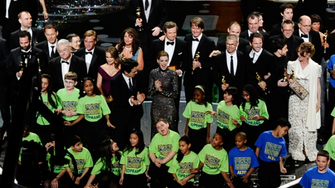 SI Kids Return Home After Oscars, Oprah