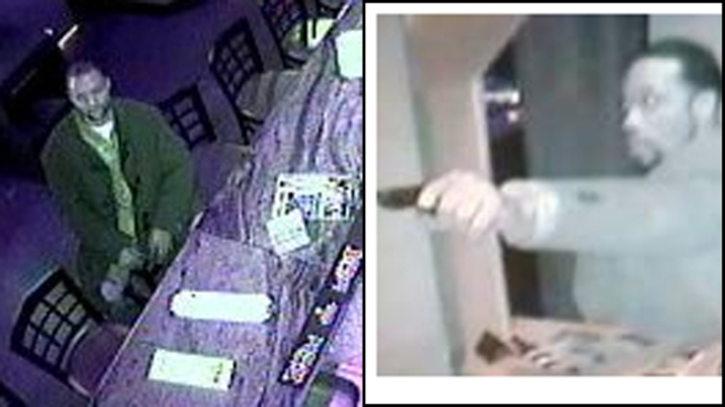 PHOTOS: Strip Club Surveillance Shows Armed Robbery Suspects