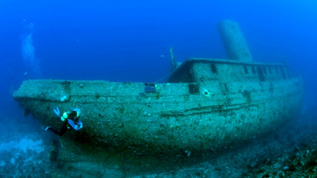 Free Sunken Ship Offered in Craigslist Ad