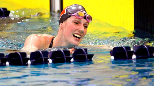 Olympic Viewing Guide - Teen Sensation Missy Franklin Swims 100M Backstroke