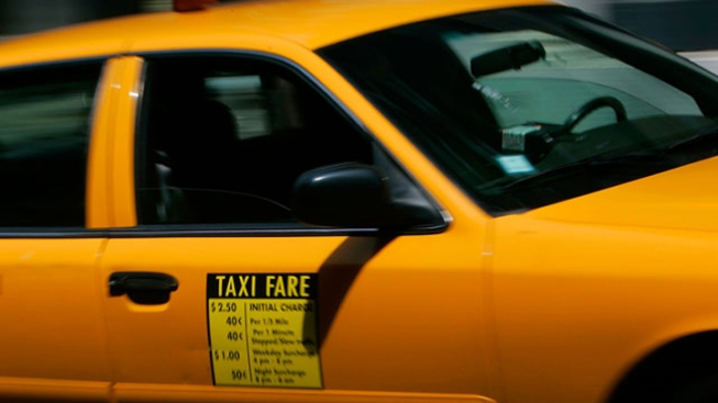 Taxi Drivers Rally Outside Gov's Office Over Livery Cab Law