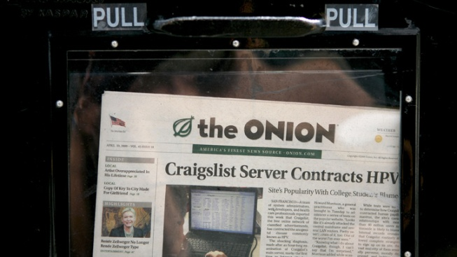 No Joke: The Onion To Halt Print Production