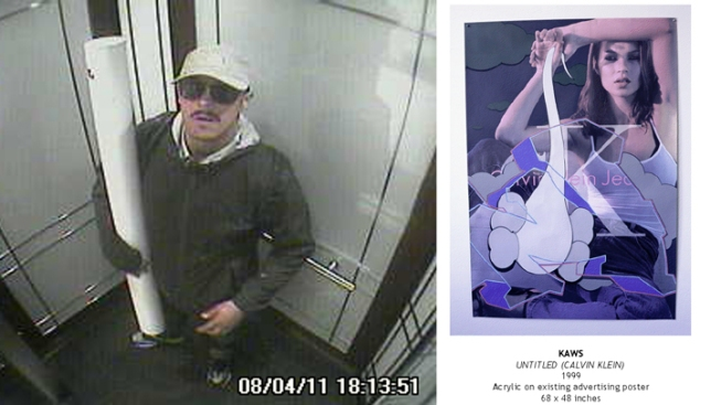 Burglar Steals $100,000 Artwork from Marc Ecko Gallery
