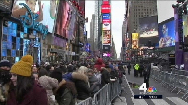 Police Plan Tight Security at Times Square