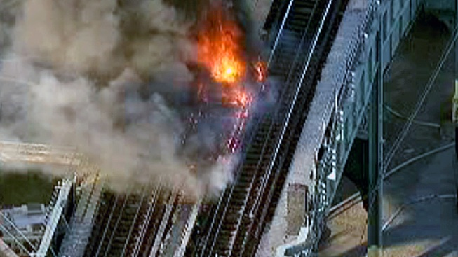 Water Main Break, Track Fire Causes MTA Delays