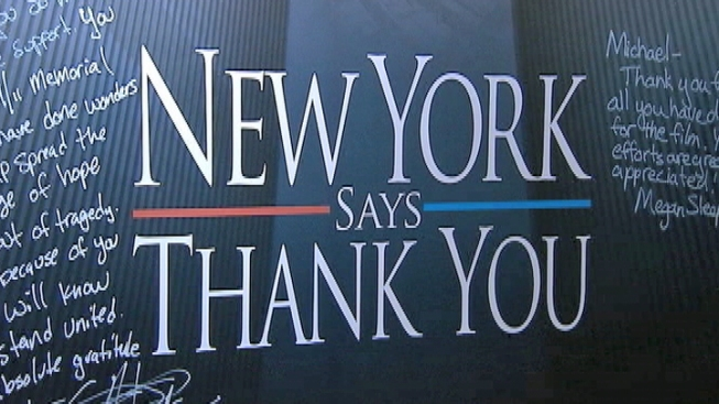 "Paying It Forward: Post-9/11 Mood Inspires ""New York Says Thank You"""
