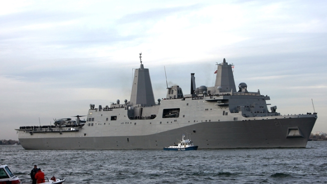 USS New York to Visit for 9/11 Anniversary