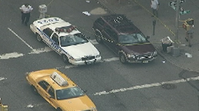 NYPD: SUV Backs Into 2 Women, Driver Charged