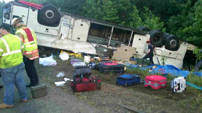 1 Charge to Be Dropped in Deadly Va Bus Crash