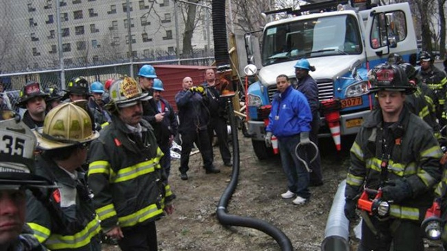 Man Rescued from Harlem Trench Collapse