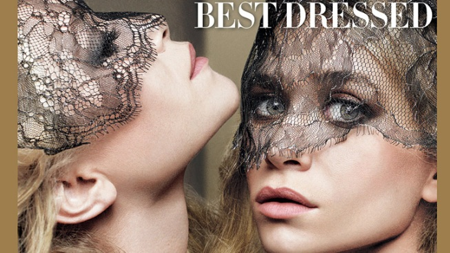 Olsen Twins Top Vogue's Best-Dressed List