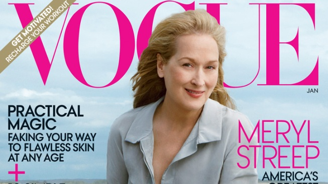 Meryl Streep Lands First-Ever Vogue Cover