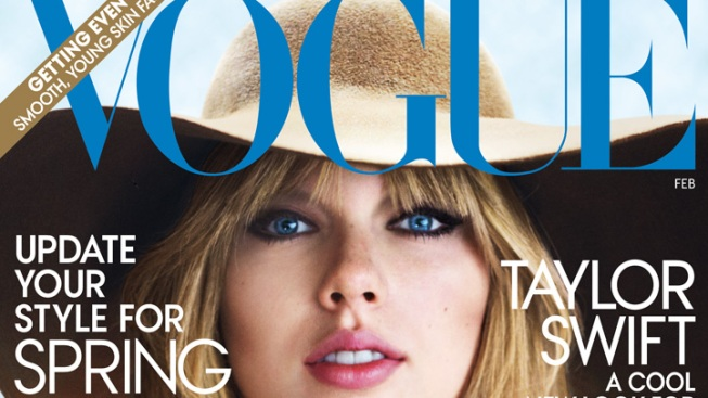 Taylor Swift Channels Stevie Nicks on First Vogue Cover