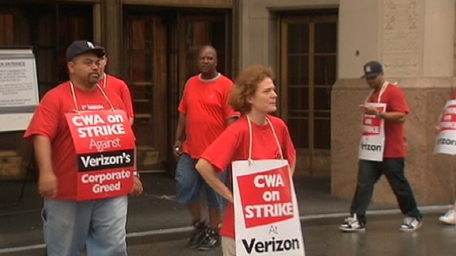 Verizon Sues Union Over Picketing Workers, Claims Harassment