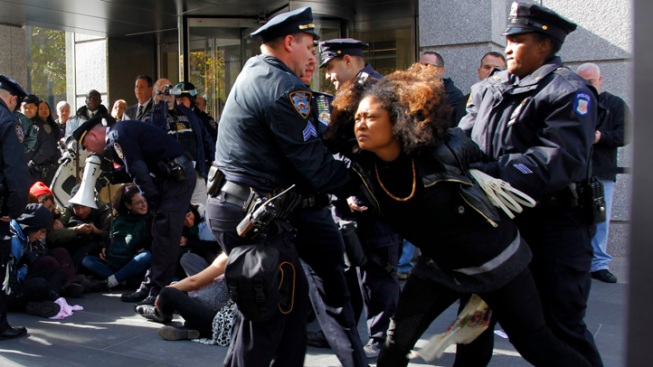 Mayor Bloomberg Blasts Protesters As More Are Arrested