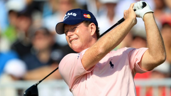 Tom Watson Sinks a Hole-in-One at British Open