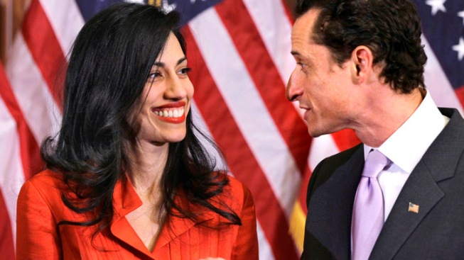 Huma Taking a Break From Weiner, Work: Report