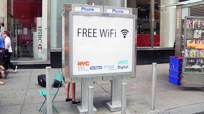 Pay Phone Wi-Fi Hotspots Launch in NYC