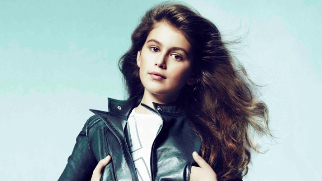 Cindy Crawford's Daughter is New Face of Young Versace