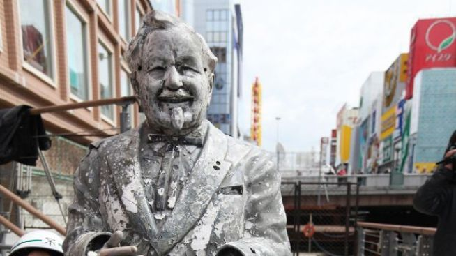 Japanese Team Fights 'Curse of Colonel Sanders'