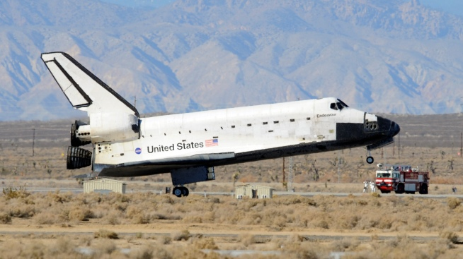 Space Shuttle May Land on West Side