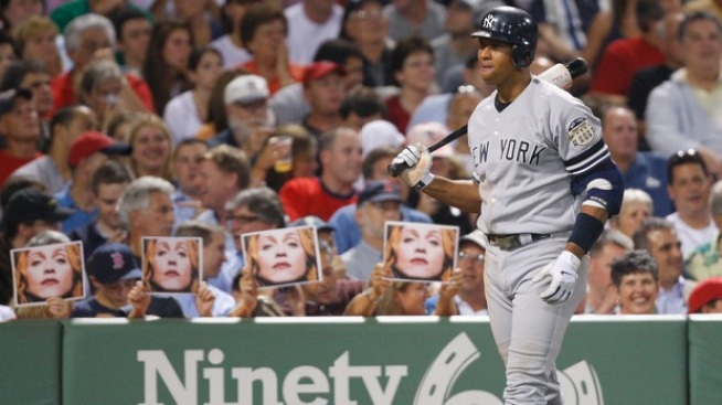 "A-Rod Wishes MVP Stood For ""Madonna's Valuable Player"""
