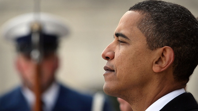 Obama Faces First Day as President