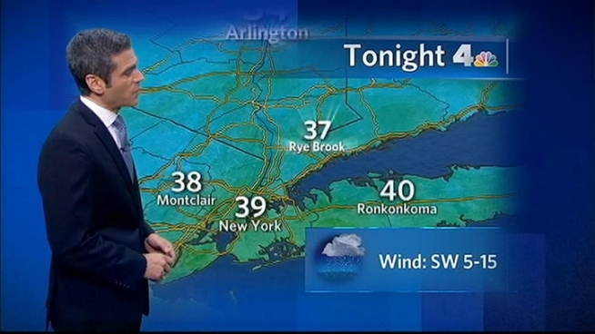 Chris Cimino's forecast for Thursday, January 12, 2012