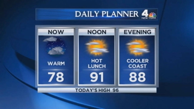Chris Cimino's early morning forecast for Tuesday, July 17.