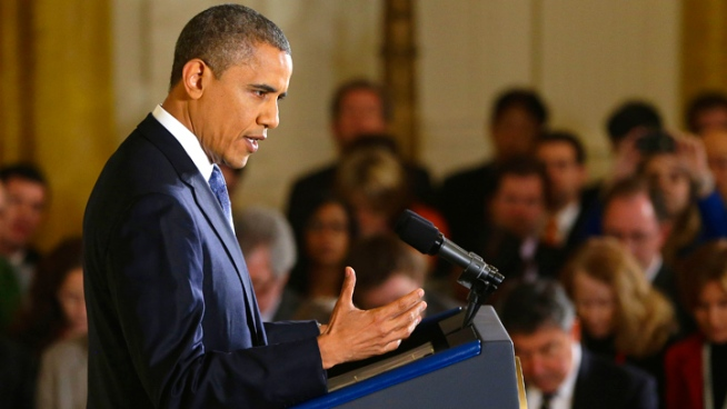 "Obama, Hill Leaders Voice Confidence in Deal on ""Fiscal Cliff"""