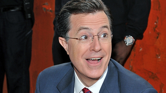 Stephen Colbert Mocks Romney's Family Pranks