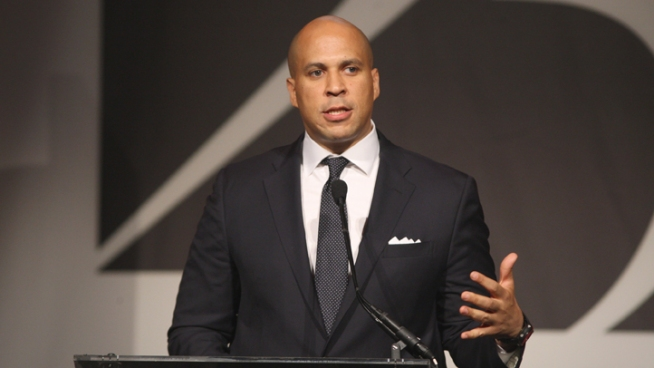Booker Denies Report He's Talking Up Governor Run
