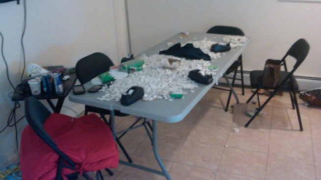 10 Arrested in Heroin Mill Bust
